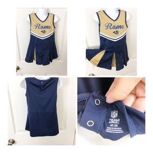 Other - Los Angeles Rams NFL cheerleader dress 4t